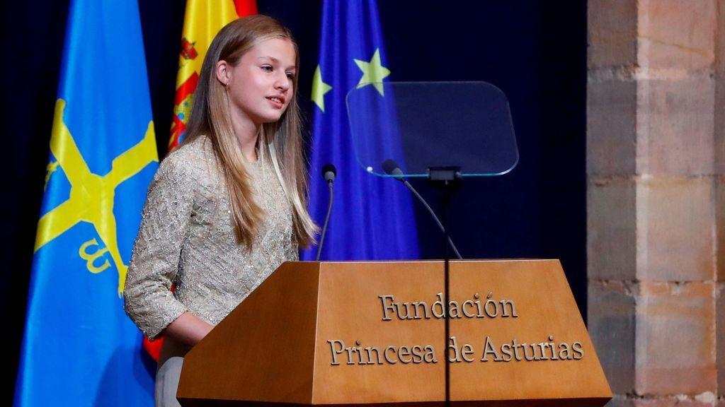 La princesa Leonor presidirá su primer acto en solitario el próximo 24 de marzo