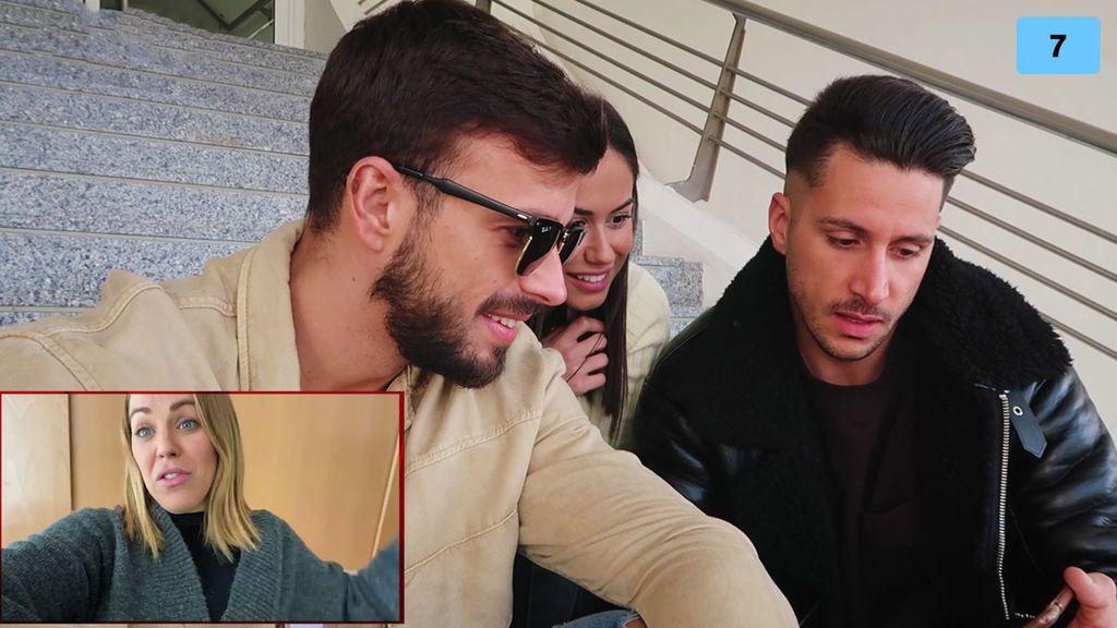 Cristian Atm y Alba quedan con Jorge y se quedan en shock con la confesión de Yoli (1/2)