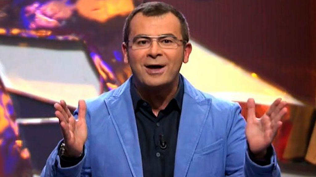 Jorge Javier, en el primer 'Sálvame' (2009)