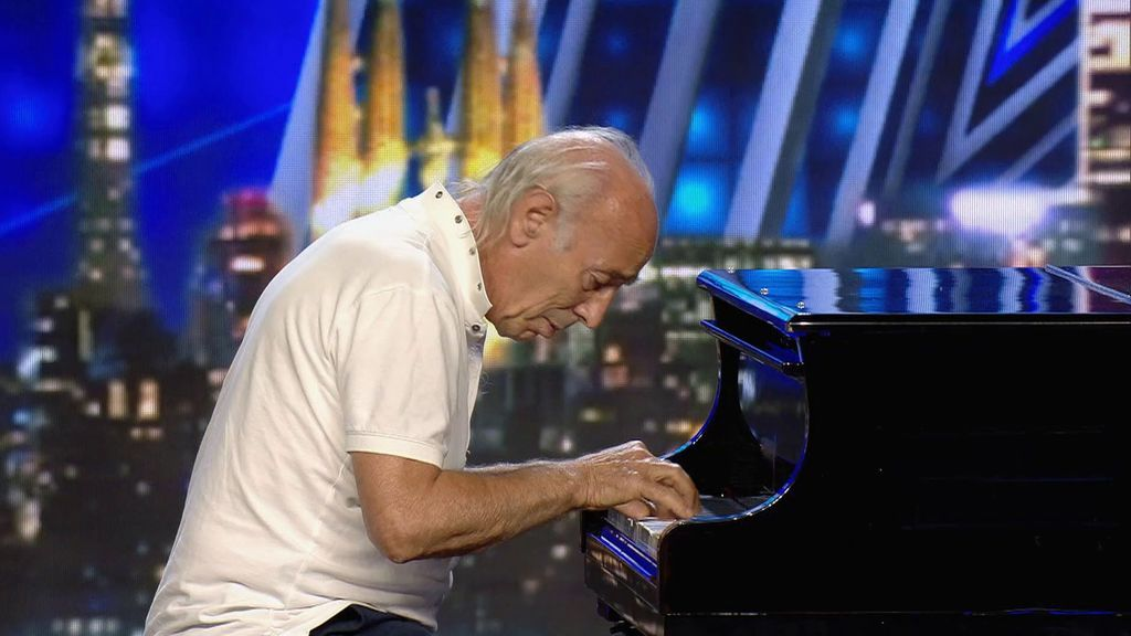 La emocionante actuación de Franky al piano que hace que a Edurne se le salten las lágrimas