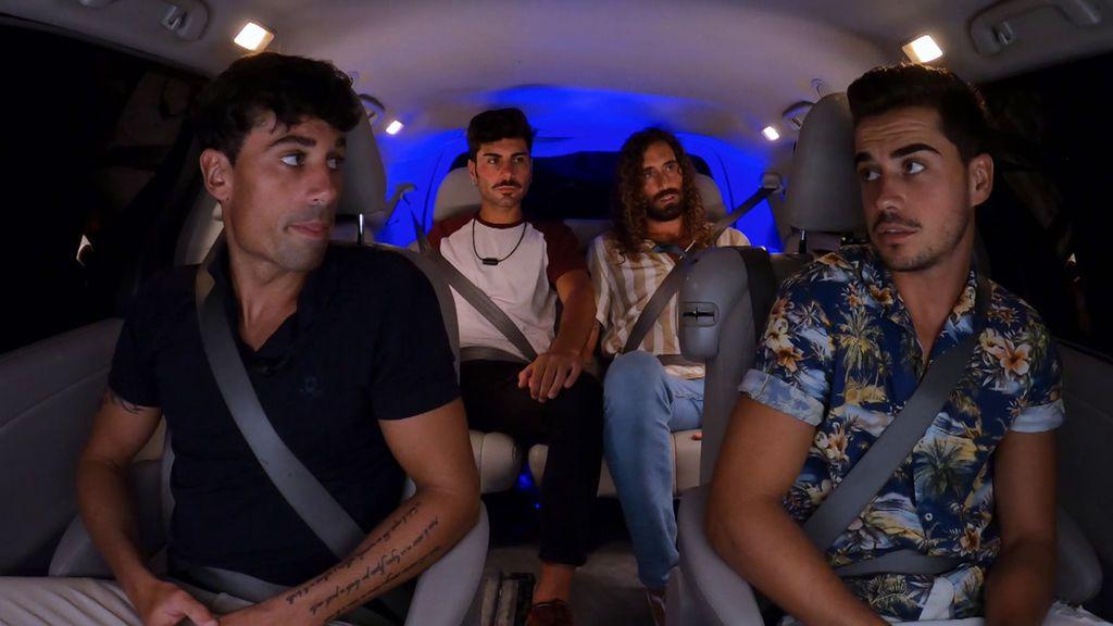 Arrancan las últimas hogueras en grupo La isla de las tentaciones Temporada 3 Programa 10