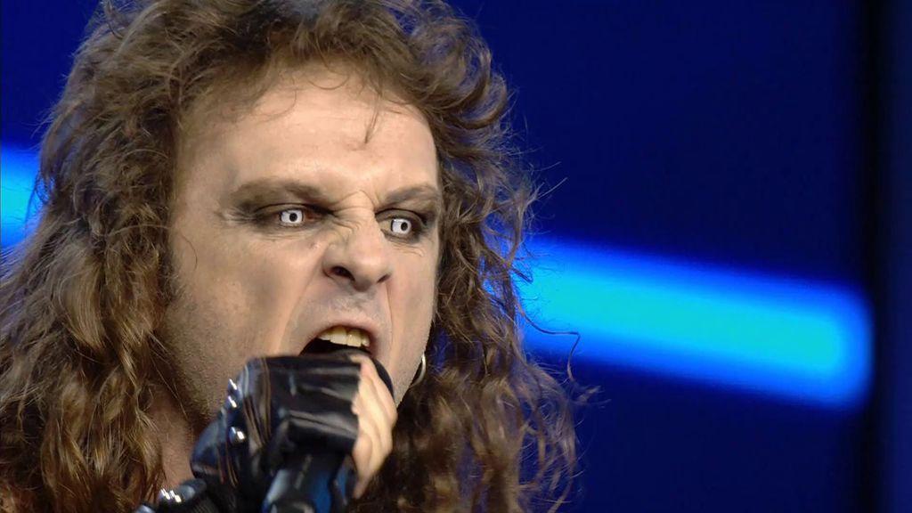 Rubén Picazo canta la versión más heavy metal de 'Amanecer'