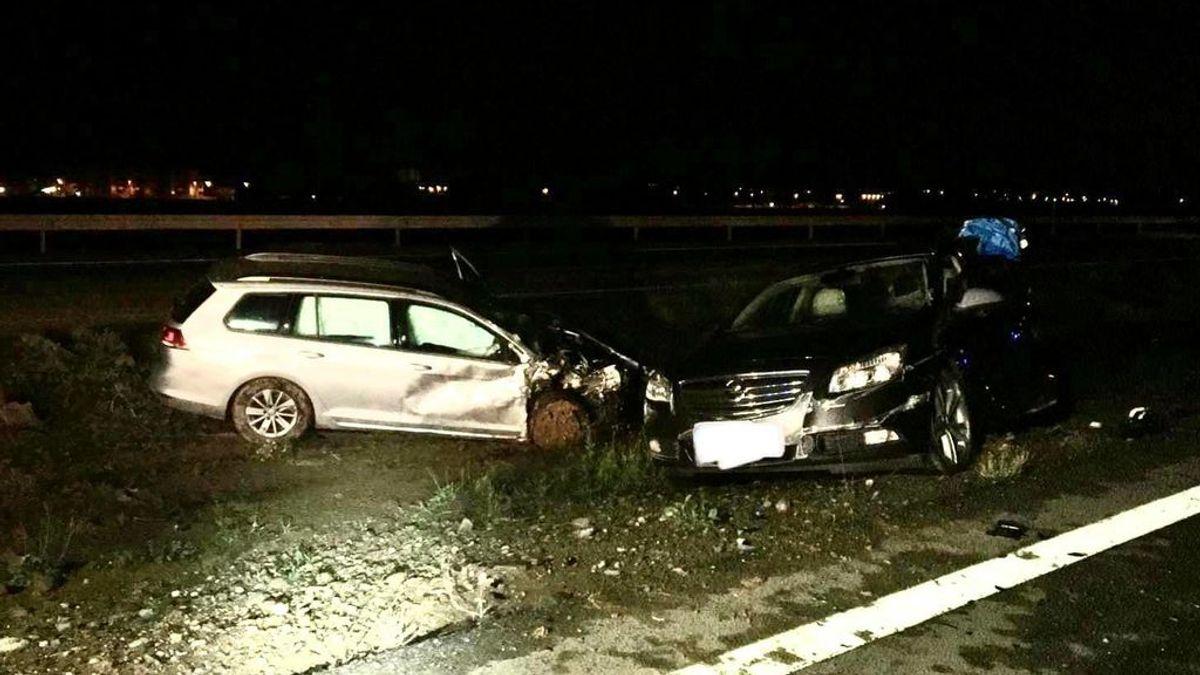 La Guardia Civil investiga si las dos víctimas de una accidente de tráfico fueron