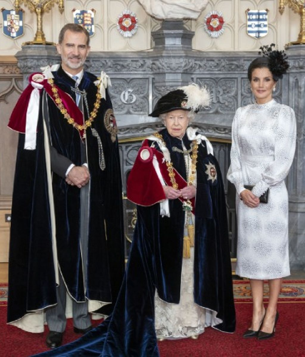 reyes España con Isabel II