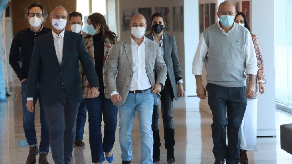 El portavoz de Cs en las Cortes de CyL ve la marcha de María Montero como un caso aislado y no teme más fugas