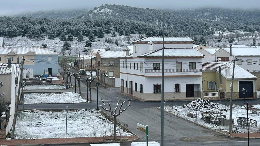 Nevada en Almería