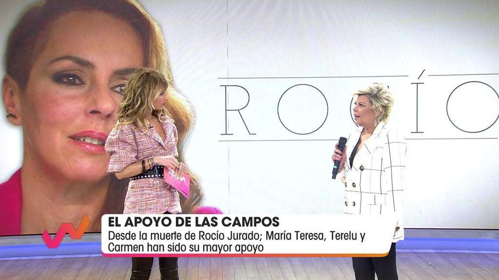 Terelu Campos reacciona al documental de Rocío Carrasco