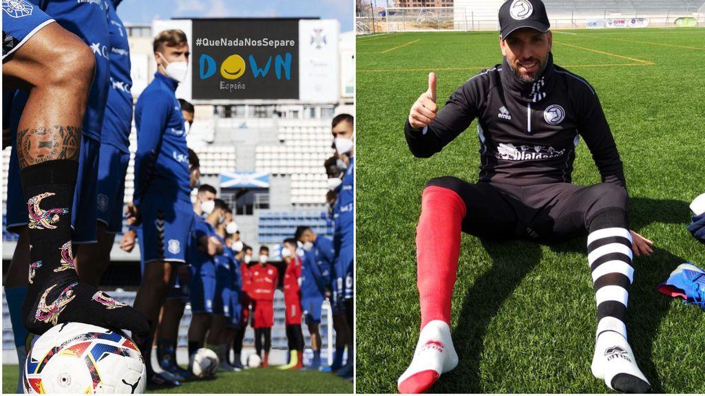 El mundo del deporte se vuelca con el Día Internacional del Síndrome de Down