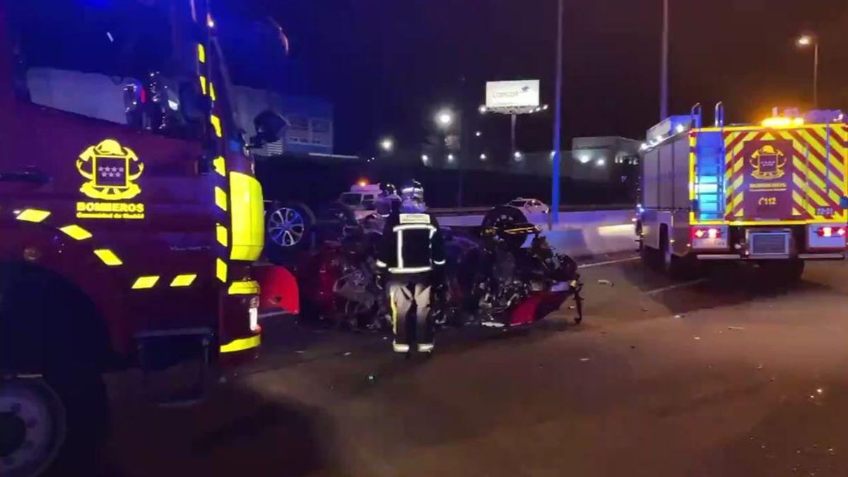 Dos conductores mueren al colisionar un vehículo contra un 'kamikaze' en Alcalá de Henares (Madrid)