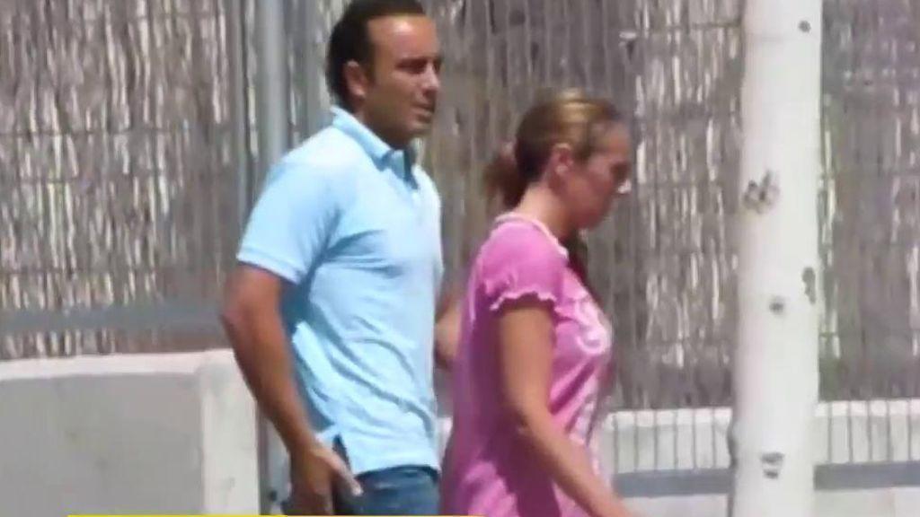 Rocío Carrasco acudiendo a declarar tras la agresión de su hija