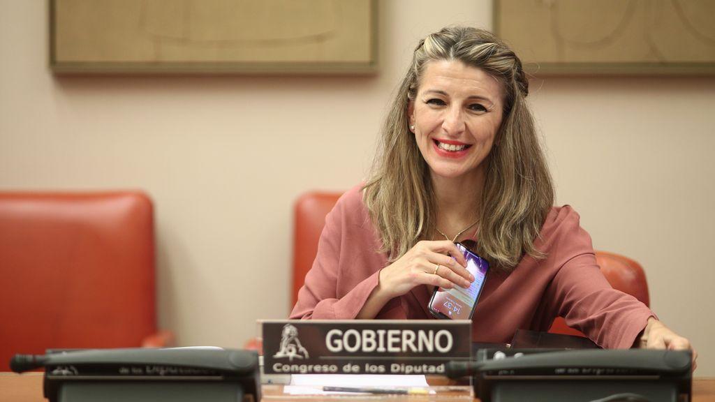 Yolanda Díaz comparece este lunes en el Congreso por vez primera tras ser llamada a liderar Unidas Podemos