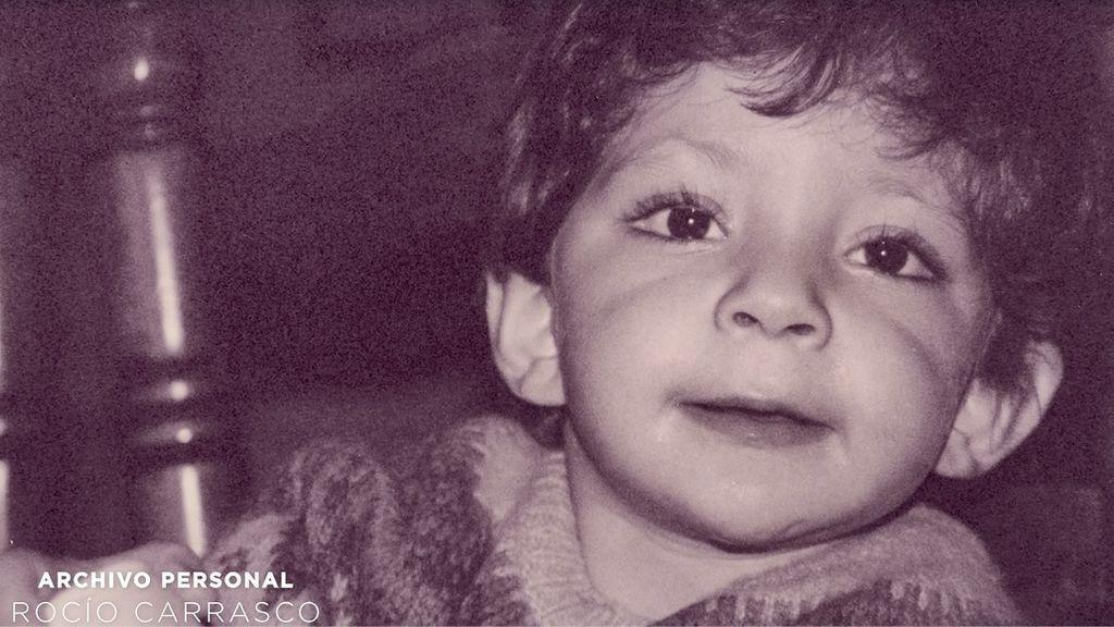 David, hijo pequeño de Rocío Carrasco y Antonio David