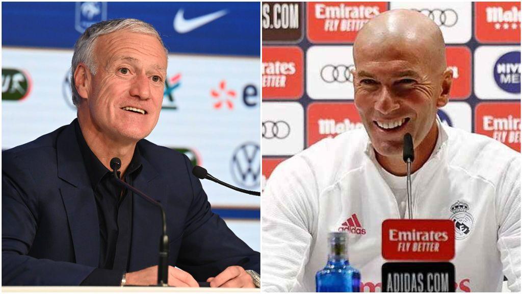 """Deschamps le da el relevo a Zidane: """"Es probable que algún día pueda sucederme en el banquillo"""""""