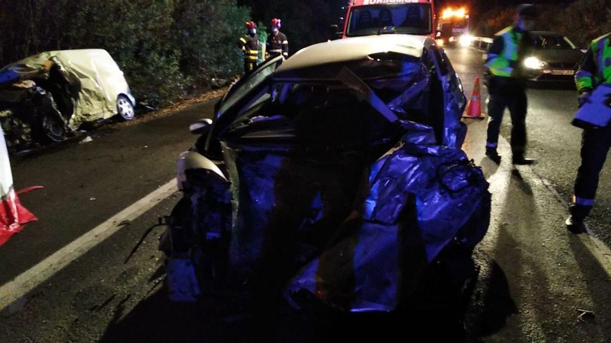 Dos muertos y cuatro heridos en un accidente de tráfico en la A-4 a su paso por La Carlota