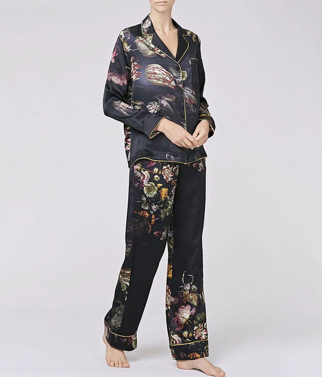 Pijama de seda de Morpho and Luna