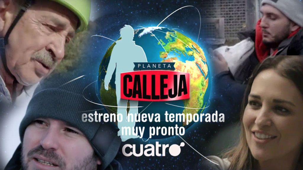Paula Echevarría, Omar Montes y  Miguel Ángel Revilla, en la nueva temporada de 'Planeta Calleja'