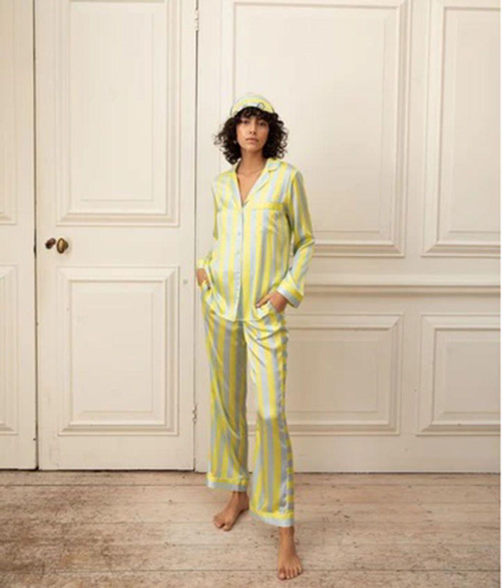 Pijama de seda de Yolke