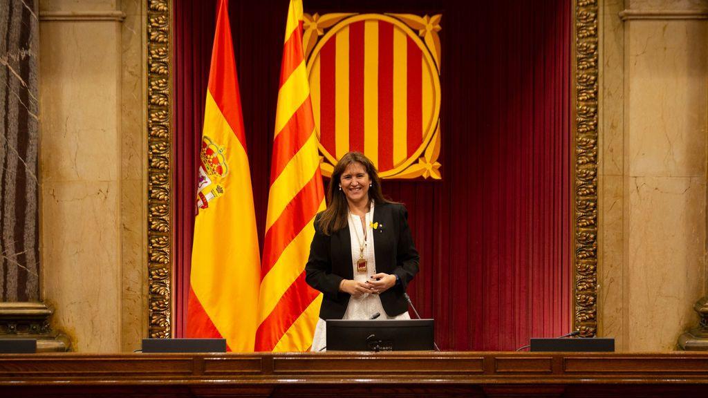 Borràs cita a los partidos por la investidura de un president con la presión del calendario y la buena sintonía de ERC y la CUP