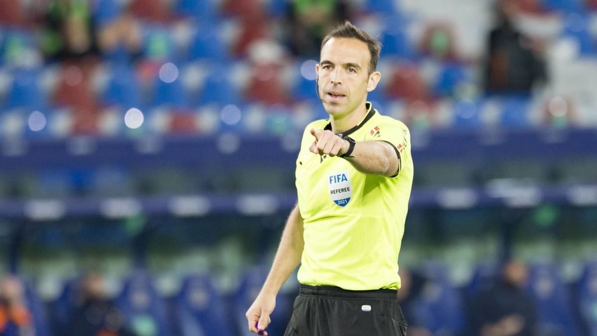 El listado de árbitros confirmados para el Europeo Sub-21: Cuadra Fernández, el único representante español