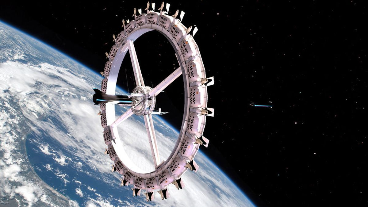 ¿Vacaciones por la Vía Láctea? El primer hotel en el espacio ya no es una odisea