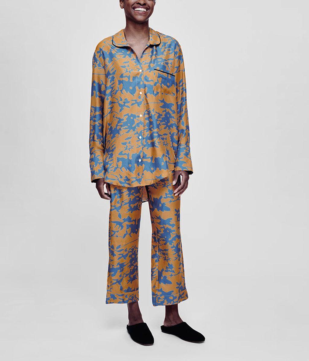 Pijama de seda de Asceno