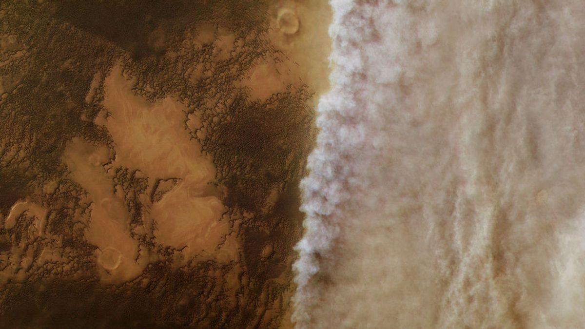 El Mars Express descubre por qué el agua de Marte sale hacia el espacio
