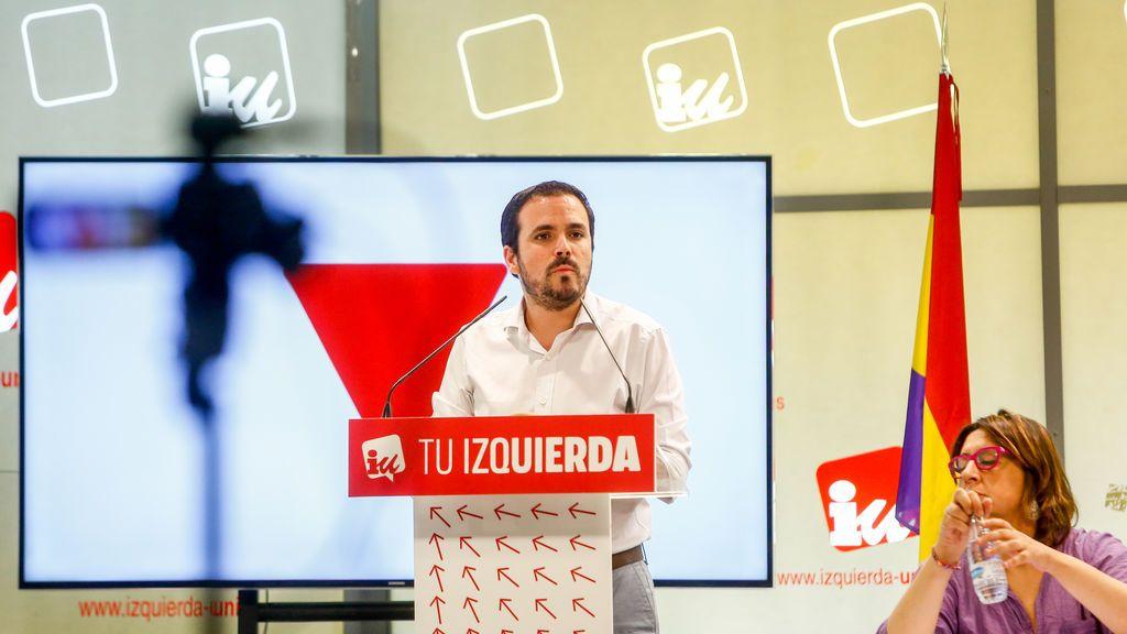 Alberto Garzón, reelegido como líder de IU al lograr su candidatura más del 76% de los votos de los militantes