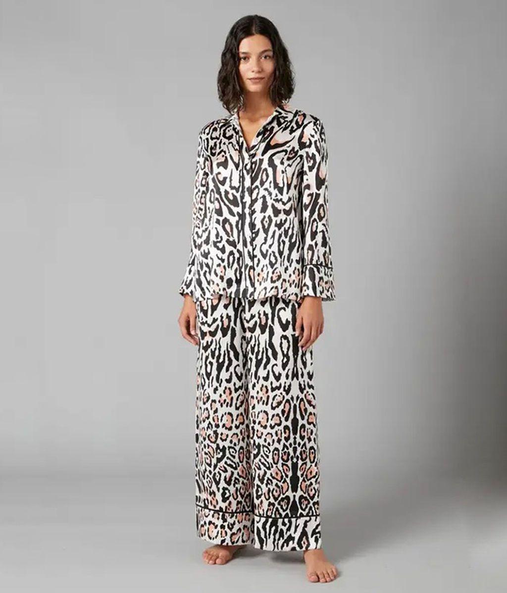 Pijama de seda de Temperley London