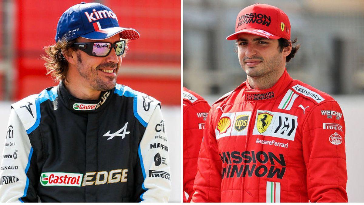 Opciones reales de Fernando Alonso y Carlos Sainz en el Mundial de Fórmula 1 2021