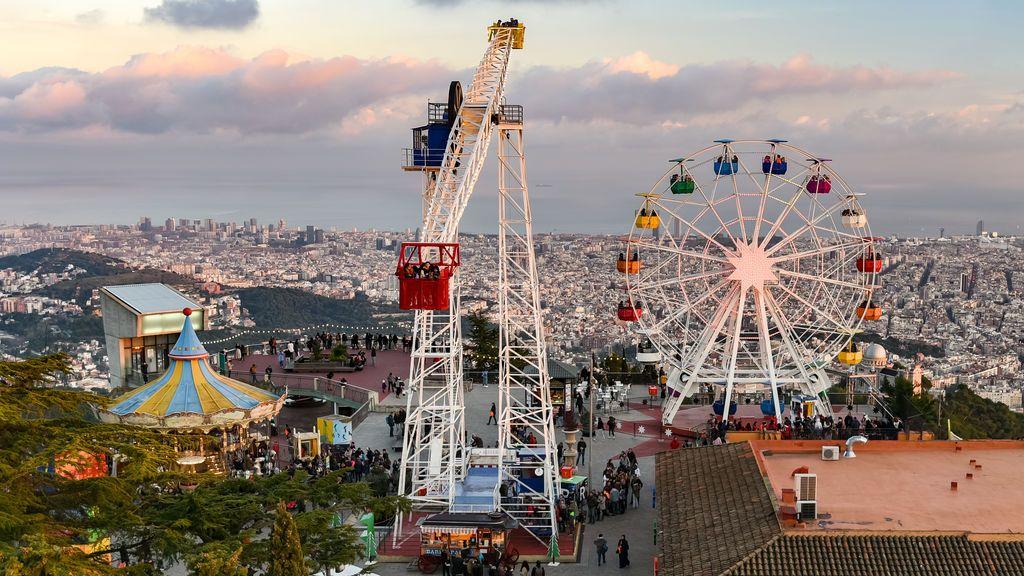 Además, el Tibidabo proporcionará unas vistas increíbles de la ciudad.