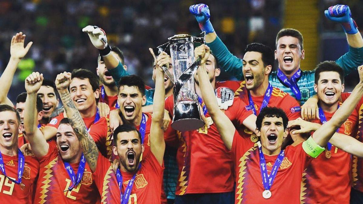 Así es el trofeo del Europeo Sub-21: 'La Rojita' va a por su sexto título