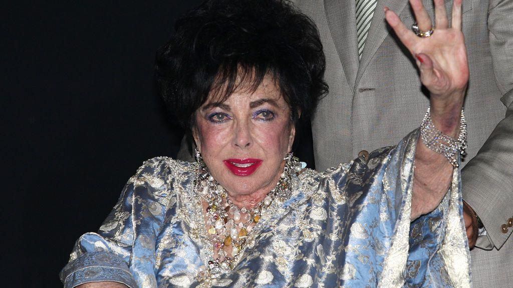 Elizabeth Taylor, en 2009, dos años antes de su muerte