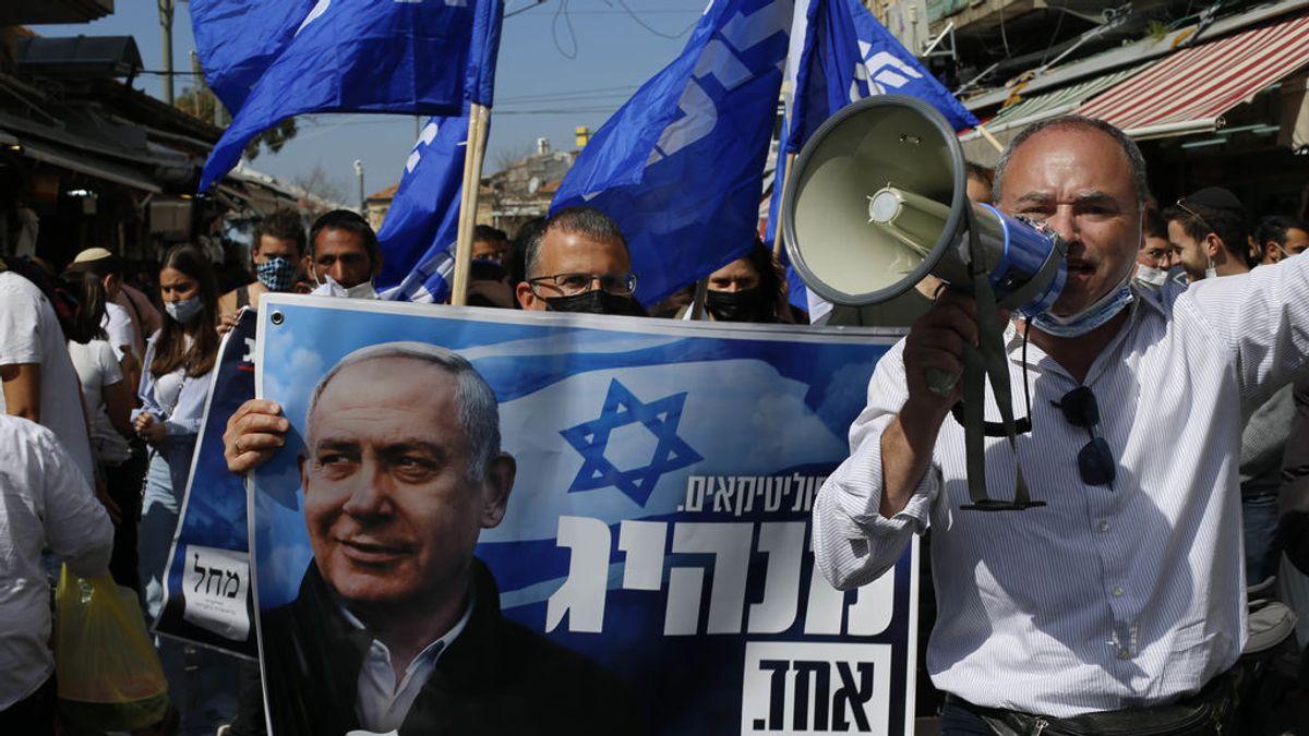 Elecciones en Israel: Netanyahu... éxito vacunación contra la covid