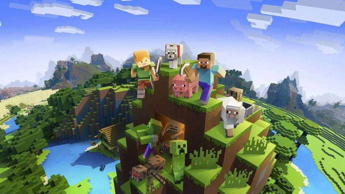 Pagan 60 euros la hora por ser jardinero virtual en el videojuego Minecraft