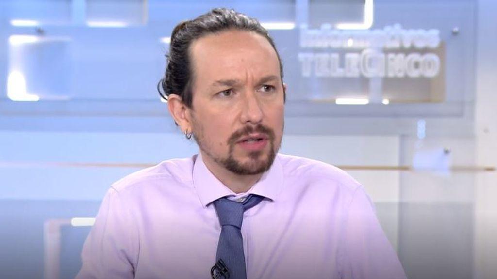 """Pablo Iglesias, sobre Ayuso y el PP: """"Si se levantan las alfombras, claro que esta gente puede acabar en la cárcel"""""""
