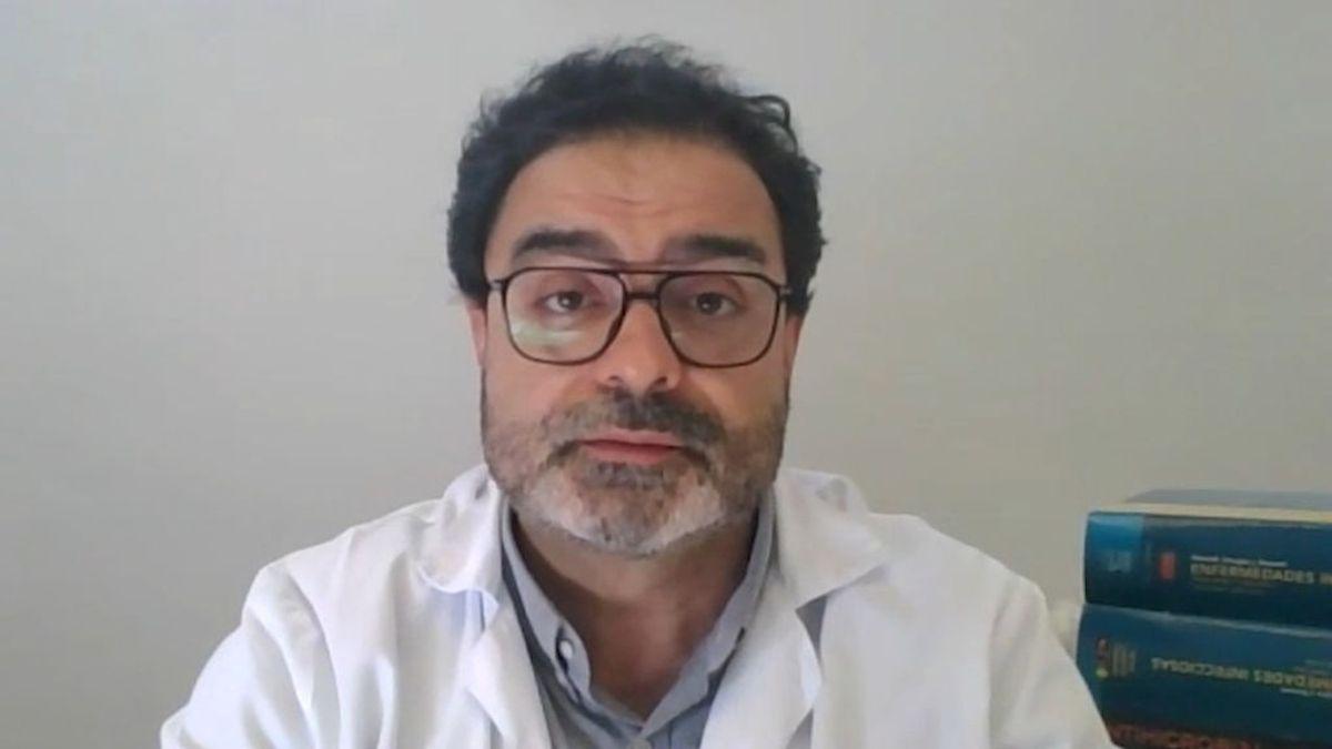 """Horcajada, infectólogo del Hospital del Mar: """"El inicio de la cuarta ola va a llegar antes de Semana Santa"""""""
