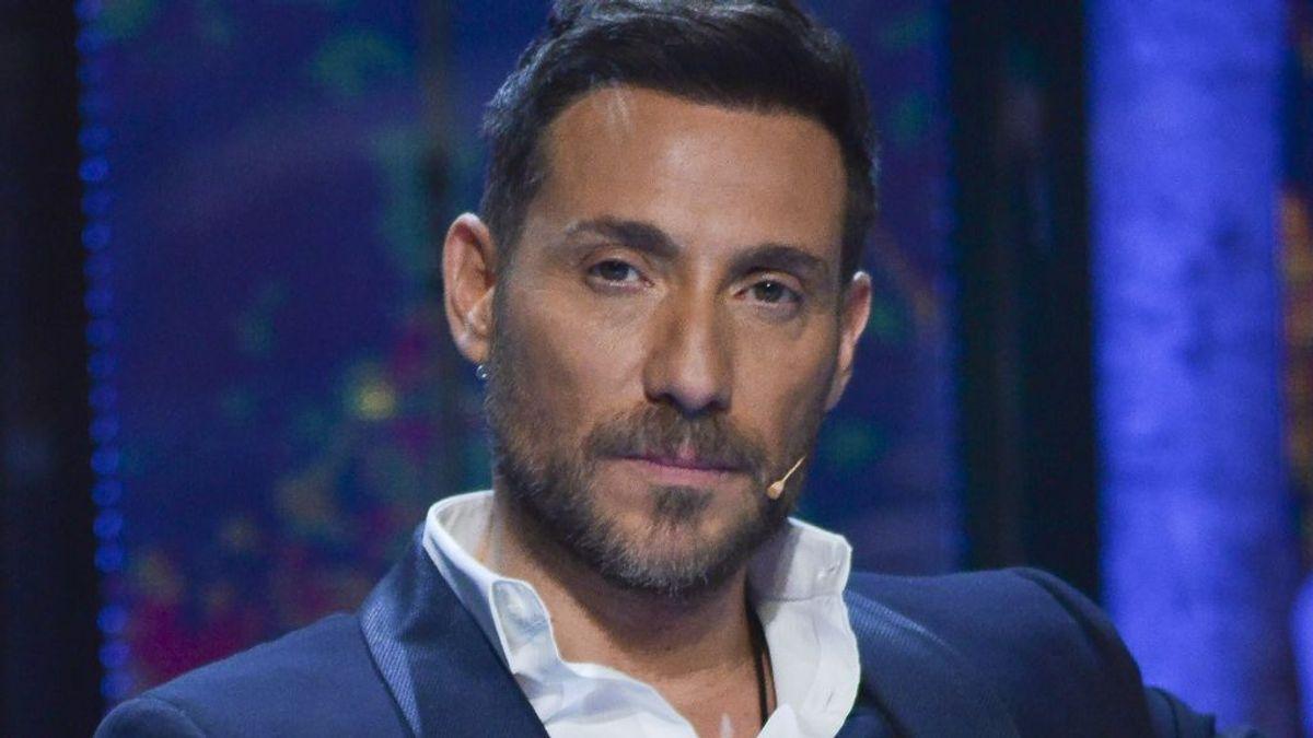 Antonio David Flores, en el plató de Supervivientes (2020)