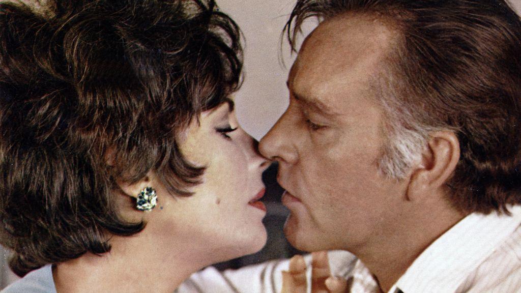 Elizabeth Taylor y Richard Burton (1967)