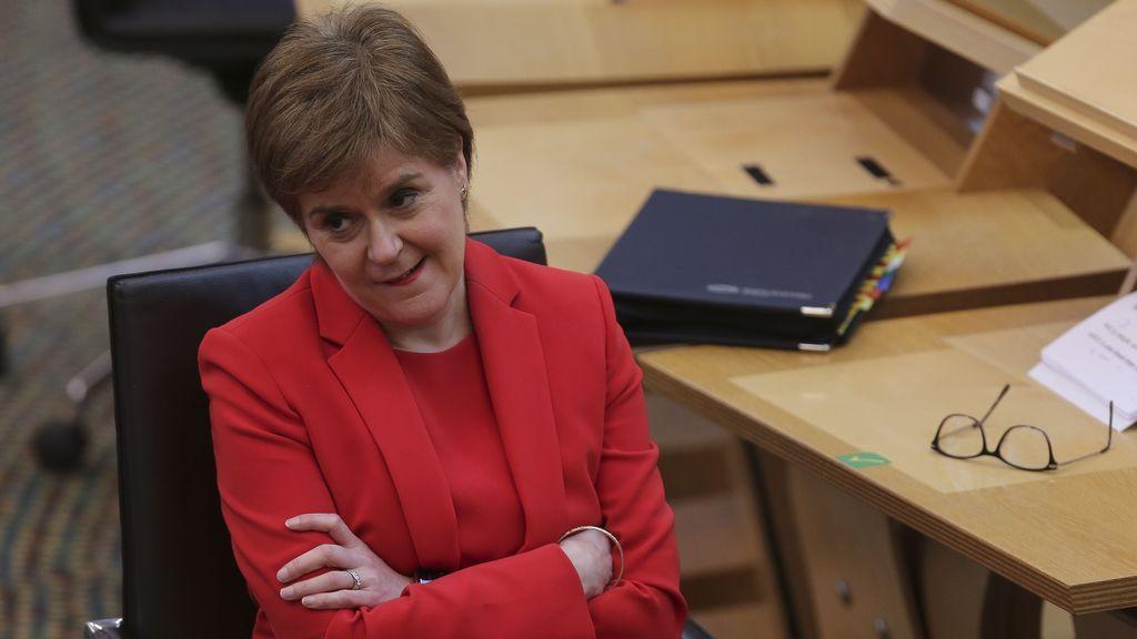 La escocesa Nicola Sturgeon, ante una moción de censura