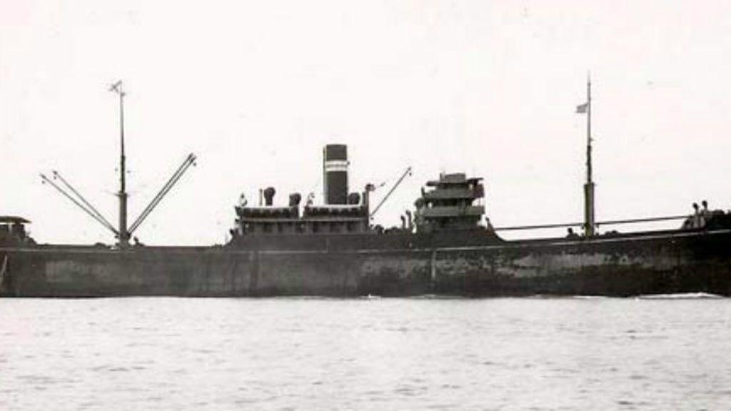 Cartas de amor y guerra recuperadas de un naufragio de 1941