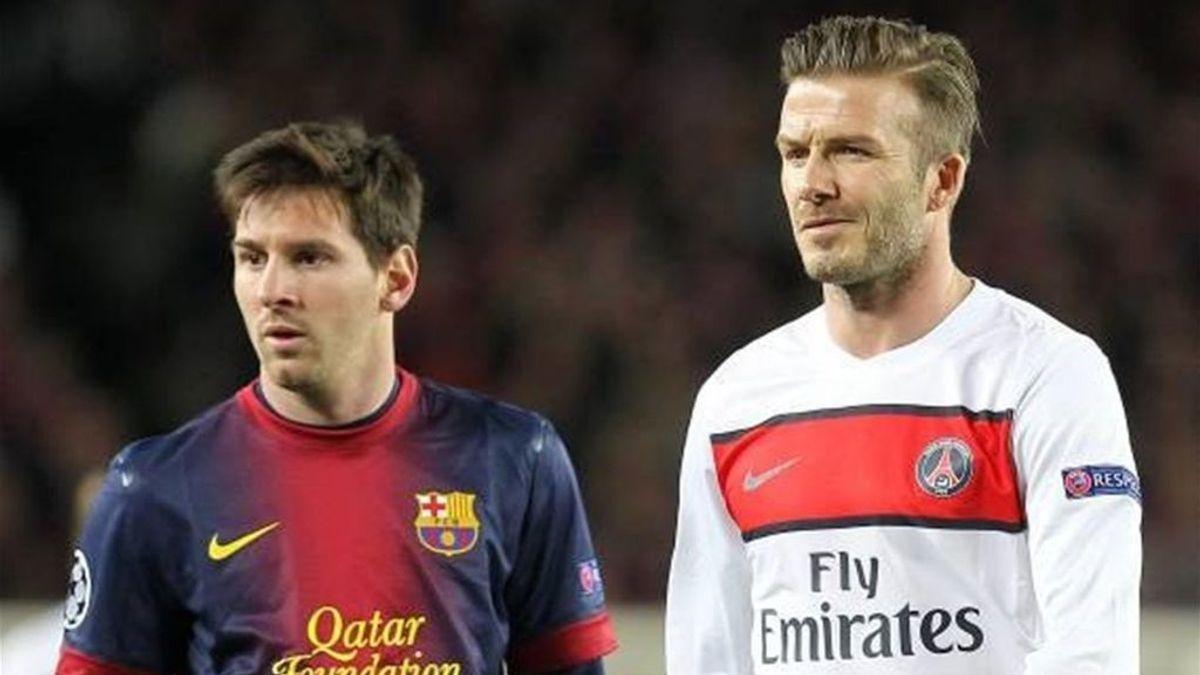 """Beckham vuelve a ofrecer el proyecto de Miami a Messi: """"Es un gran lugar"""""""
