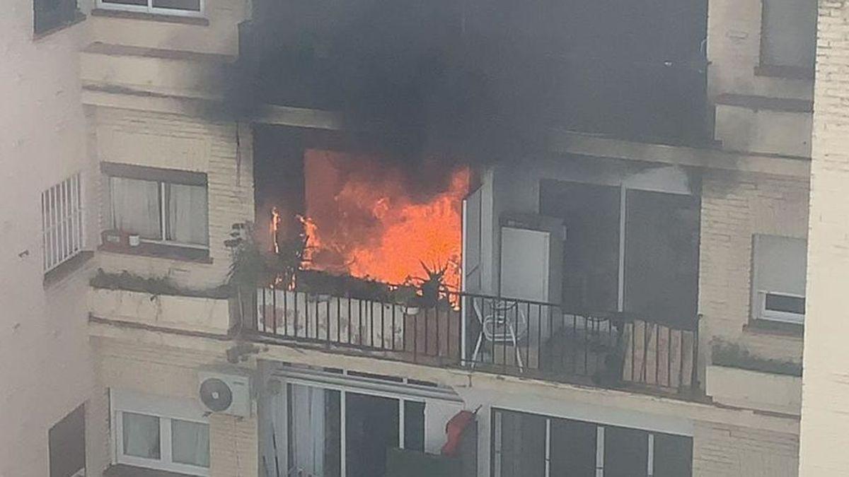 Muere un hombre en el incendio de su vivienda en Torremolinos