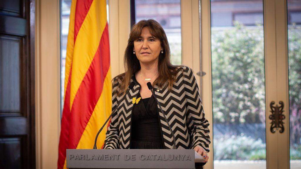 Laura Borràs propone a Aragonès como presidente de la Generalitat