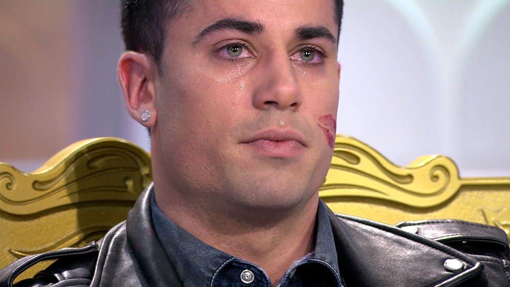 Diego derribó su coraza en 'MyHyV'