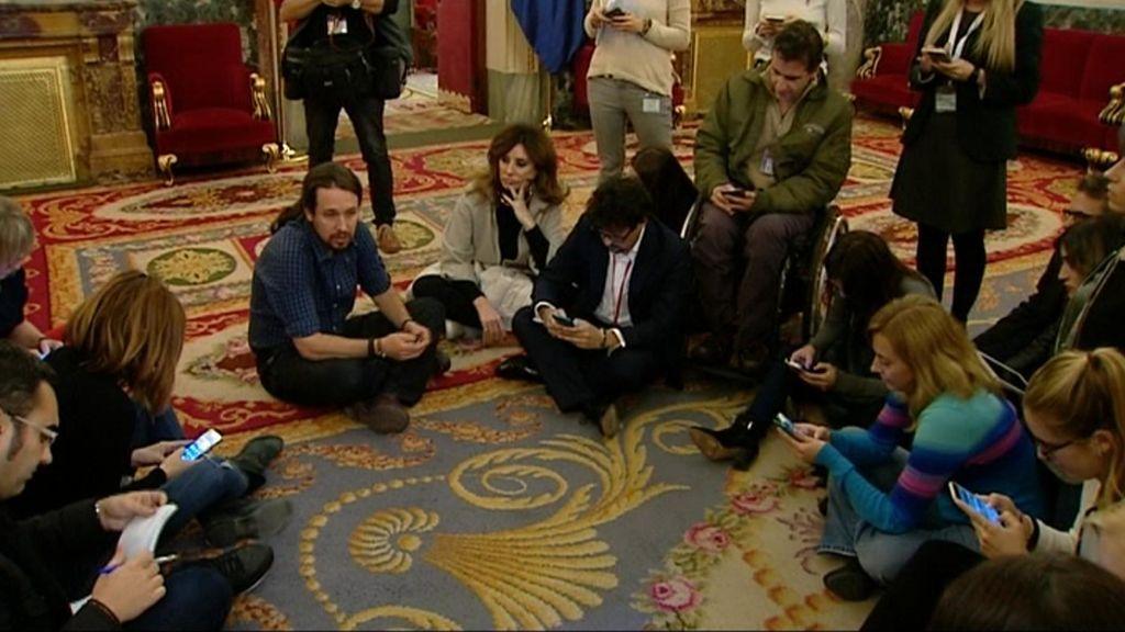 """Cinco """"momentazos"""" del paso de Pablo Iglesias por el Congreso"""