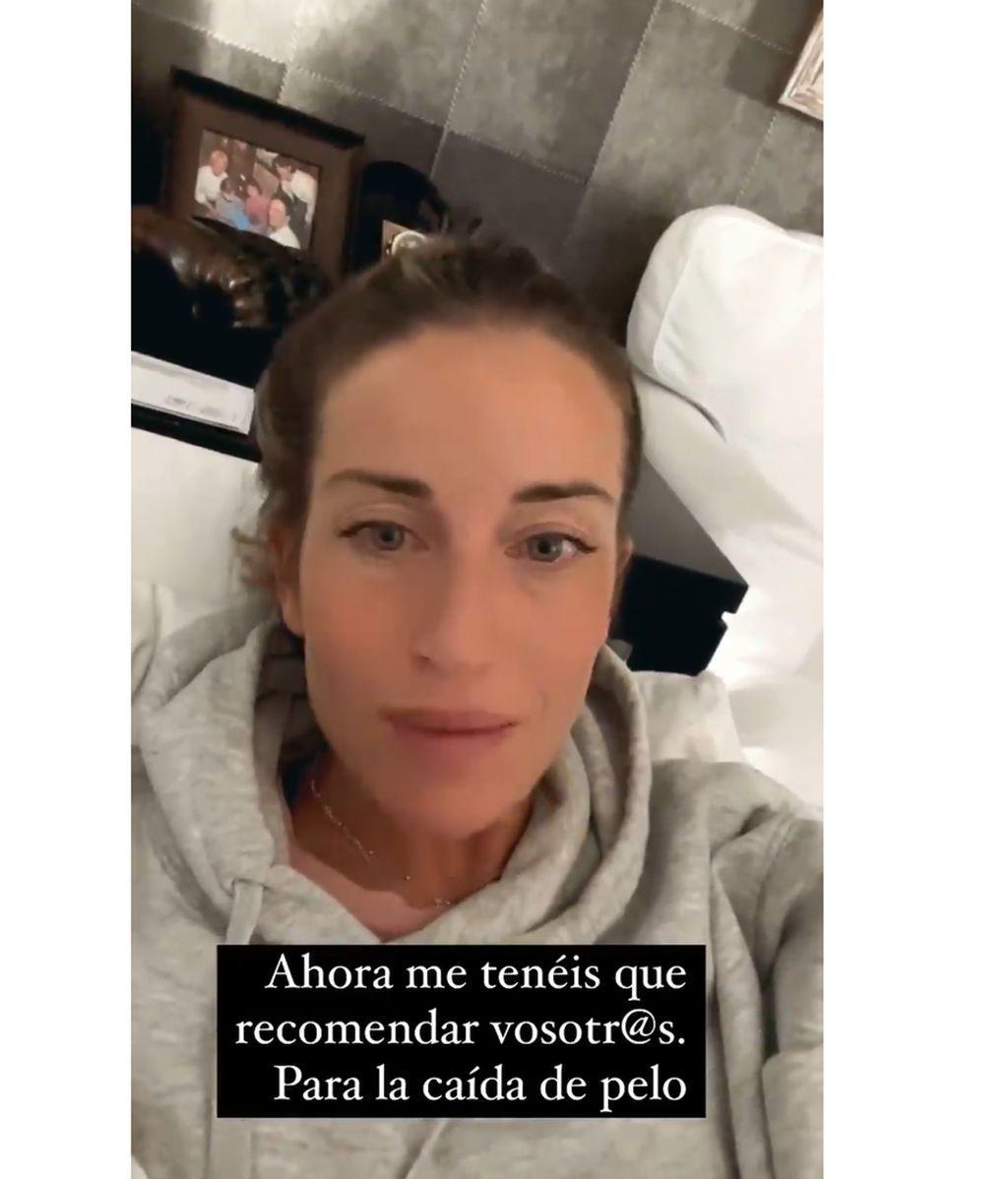 Marta Castro pide ayuda a sus seguidores para frenar su caída de pelo tras ser madre