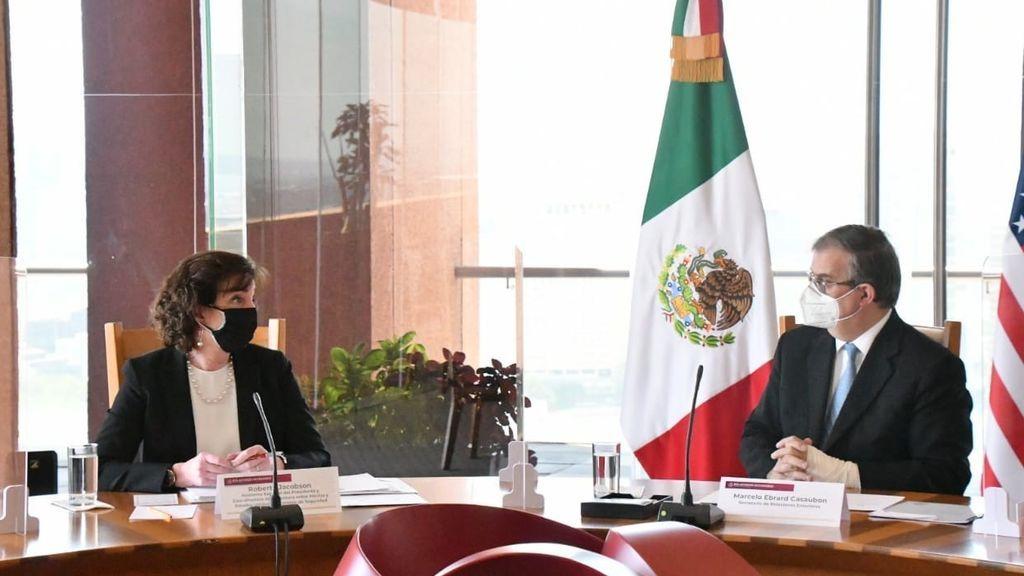 """EEUU y México acuerdan promover una migración """"ordenada"""""""