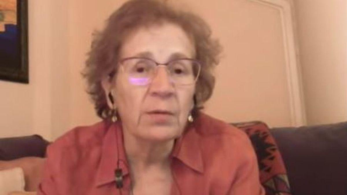 """Margarita del Val, optimista """"porque tenemos una vacuna"""" y """"ya vemos cómo funciona"""""""