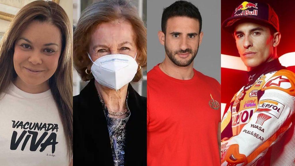 Famosos e inmunes: Los VIPs que ya tienen la vacuna contra la COVID