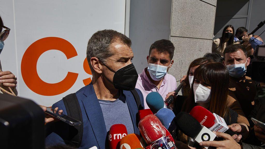 Ayuso ficha a Toni Cantó para la lista del PP en las elecciones del 4M